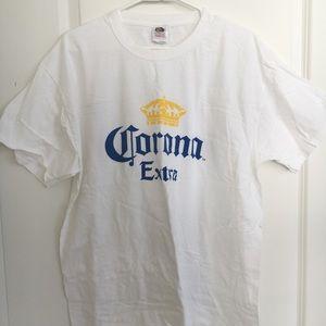 Corona Extra white t-shirt XL